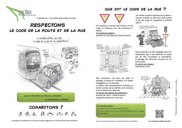 Flyer Code de Rue