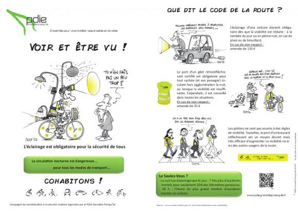 flyer Sécurité Routière