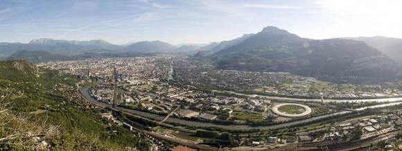 Vue panoramique presqu'ile